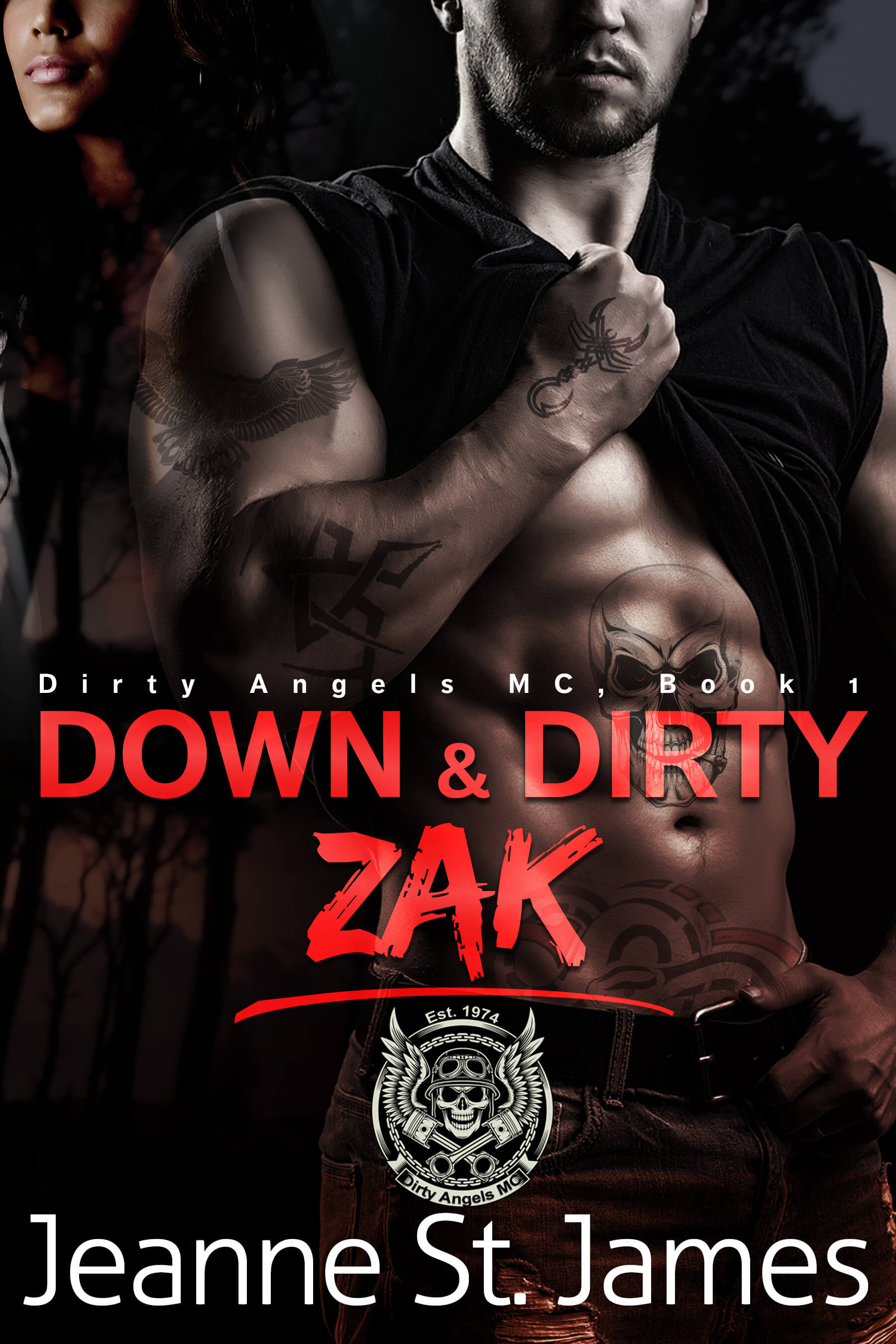 New Release! Jeanne St. James's Down and Dirty – Zak