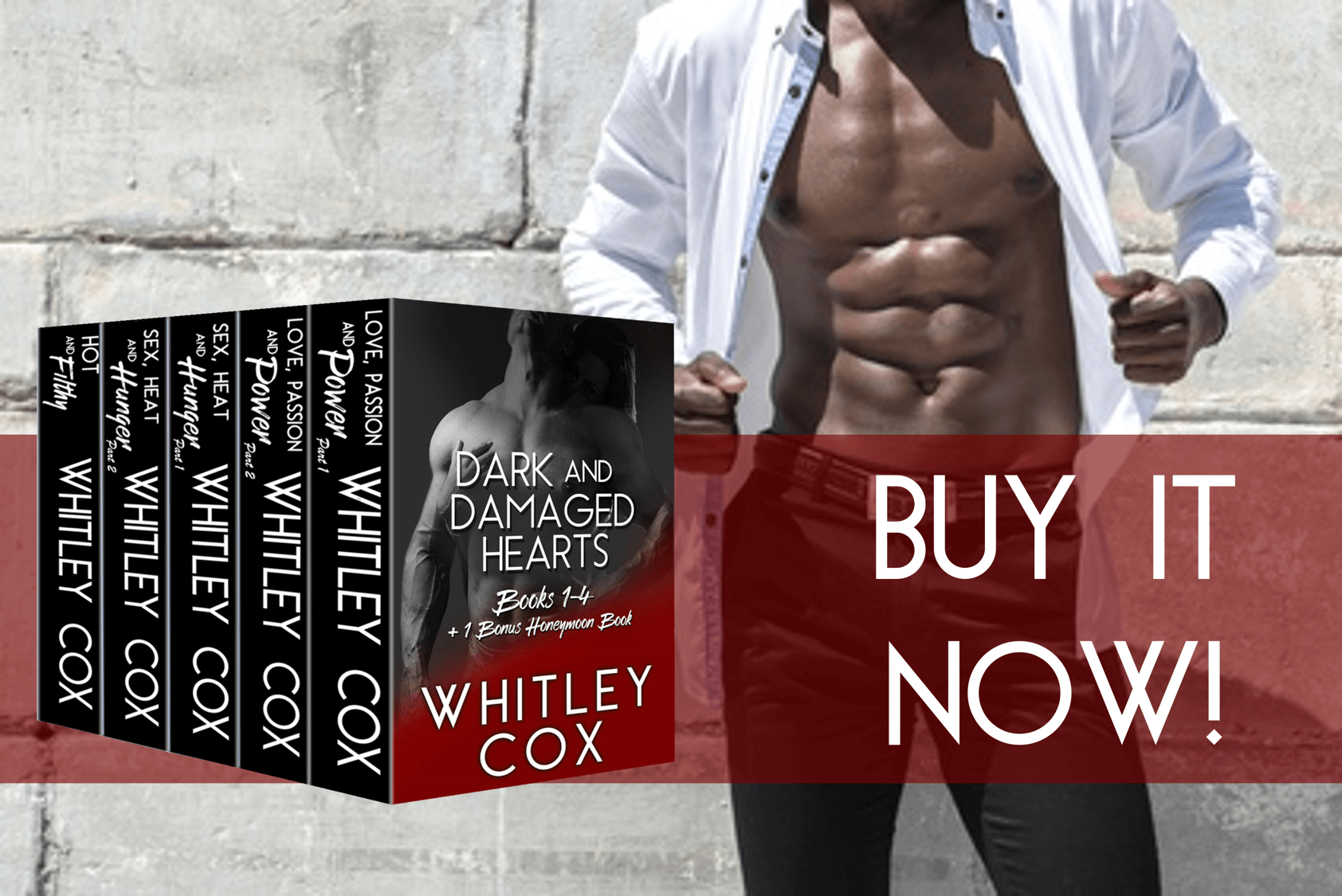 Whitley Cox's Dark and Damaged Hearts Boxed Set